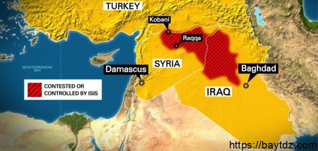أين تقع كوباني