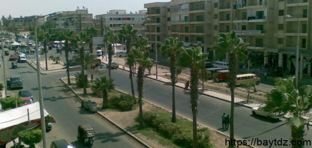 أين تقع مدينة برج العرب