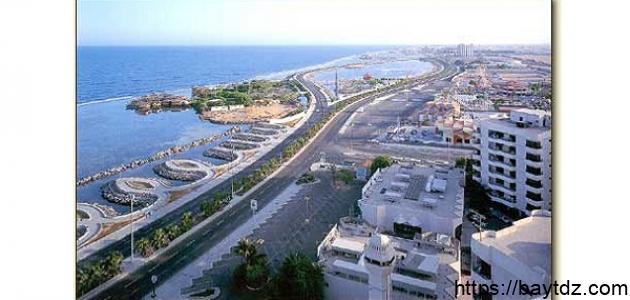 أين تقع مدينة جدة