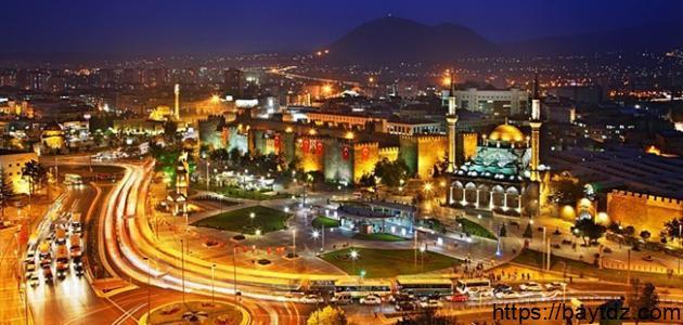 أين تقع مدينة قيصري في تركيا