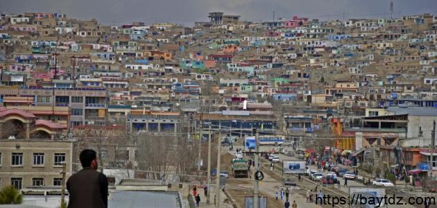 أين تقع مدينة كابل