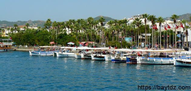 أين تقع مرماريس في تركيا