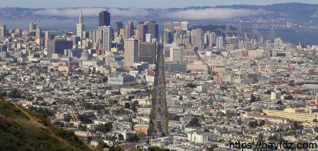 أين توجد مدينة سان فرانسيسكو