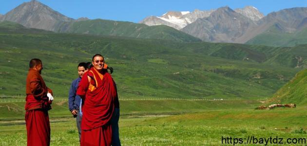 أين توجد هضبة التبت