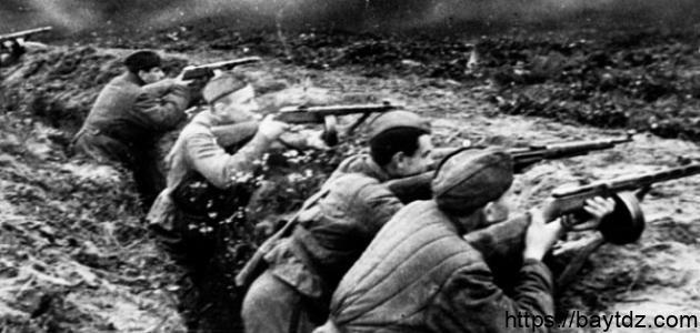 أين وقعت الحرب العالمية الأولى
