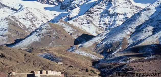 أين يقع جبل توبقال