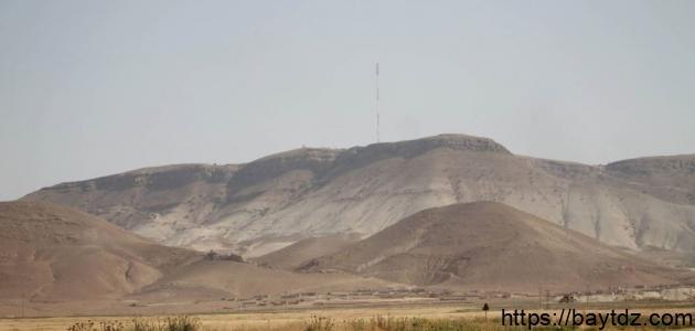 أين يقع جبل عبد العزيز