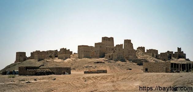 أين يقع قصر الملكة بلقيس