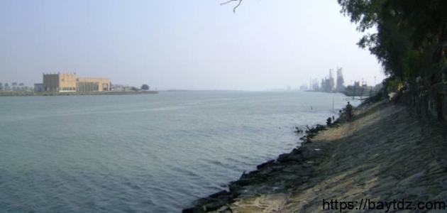 أين يقع نهر شط العرب