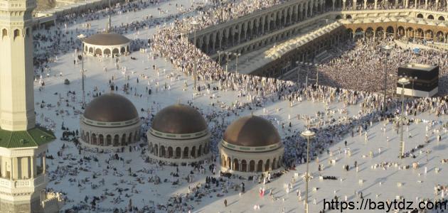 أين يوجد المسجد الحرام