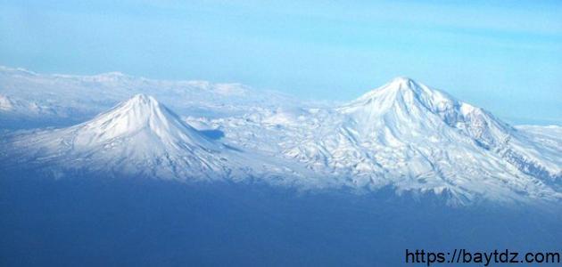 أين يوجد جبل أرارات
