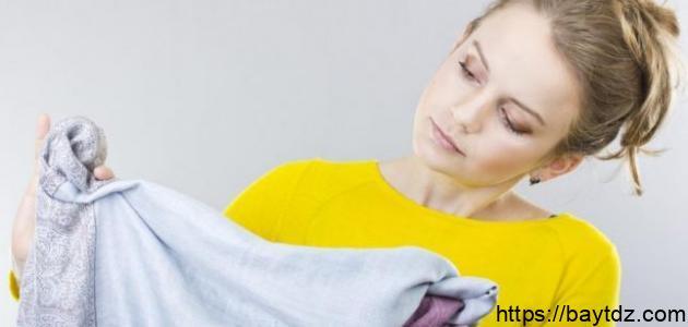 إزالة البقع الصعبة من الملابس