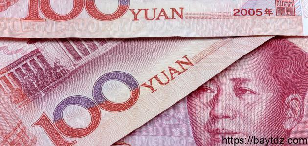 اسم العملة الصينية