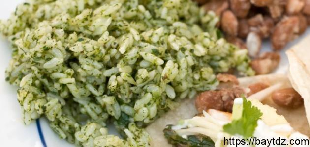 الأرز الأخضر
