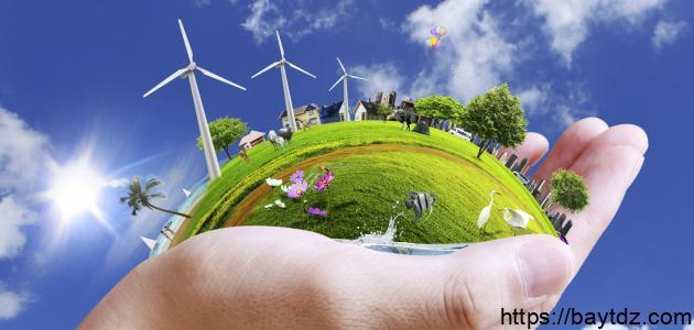 البيئة وكيفية المحافظة عليها