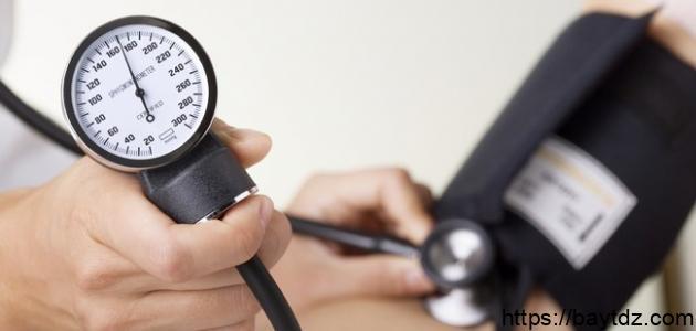 التحكم في ضغط الدم المرتفع