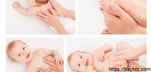 التخلص من الغازات عند الرضع