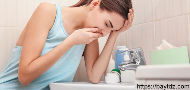 التخلص من غثيان الحمل