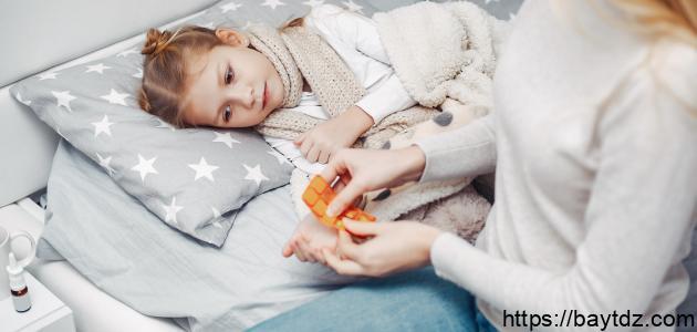 التهاب اللوز للأطفال
