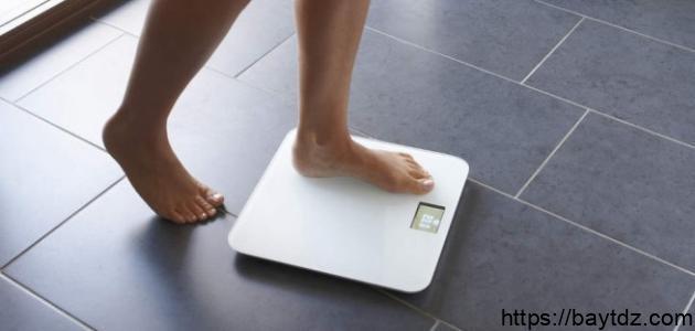 الحفاظ على الوزن