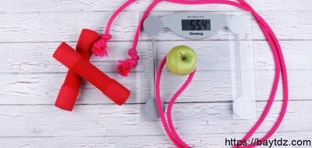 الرياضة وإنقاص الوزن