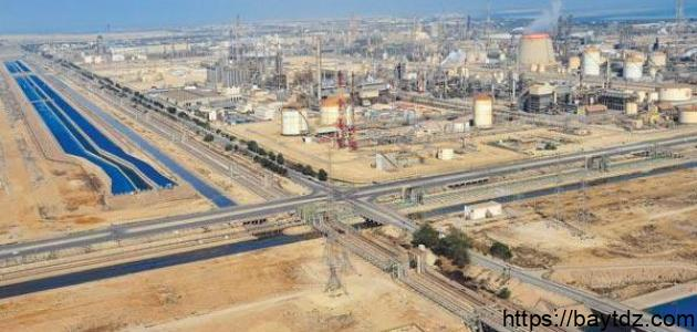 الصناعة في السعودية