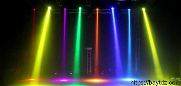 الضوء والألوان