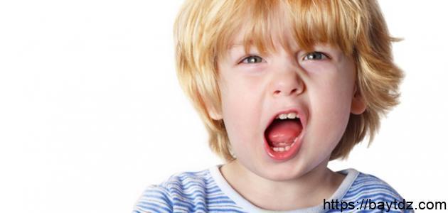 الطفل العصبي وطرق التعامل معه