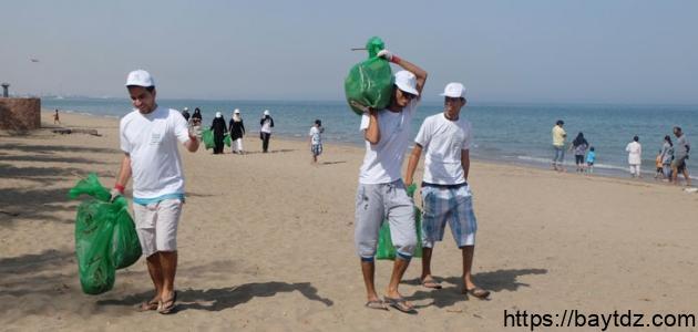العمل التطوعي في سلطنة عمان