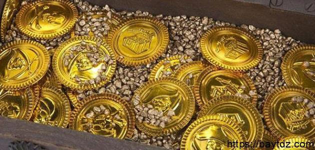 الفرق بين الذهب والنحاس