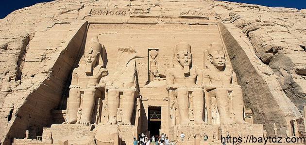 بحث عن آثار مصر الفرعونية القديمة