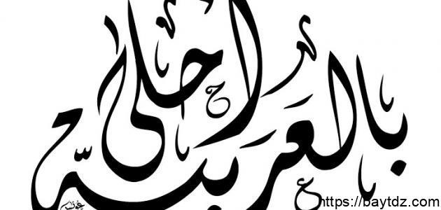 بحث عن أهمية اللغة العربية