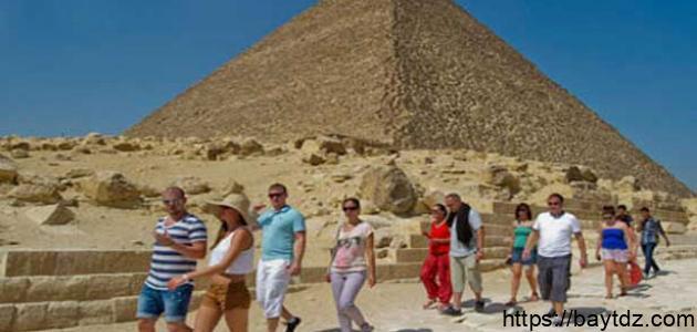 بحث عن السياحة فى مصر