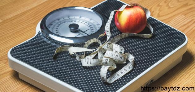 بحث عن تخفيف الوزن