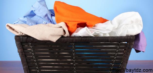 بحث عن كيفية إزالة البقع من الملابس