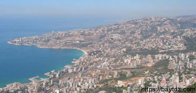 بحث عن لبنان