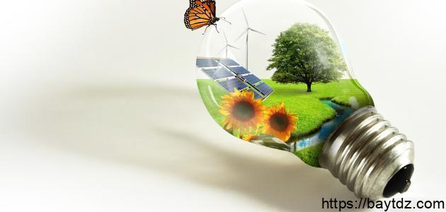 بحث عن وسائل المحافظة على البيئة