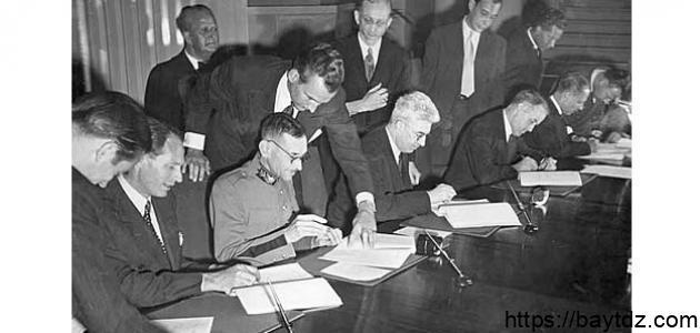 بنود اتفاقية جنيف