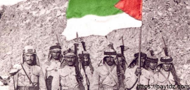 تاريخ الثورة العربية الكبرى