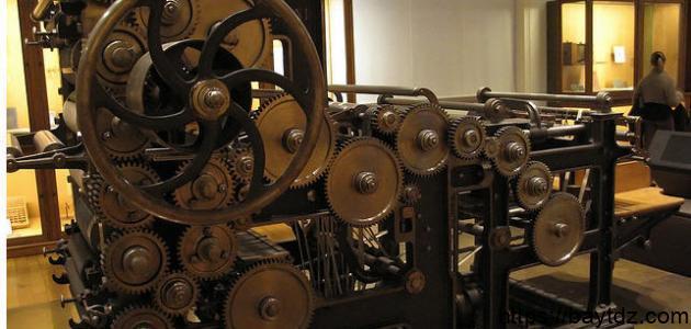 تاريخ الطباعة