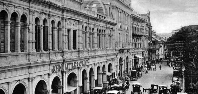 تاريخ سنغافورة