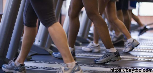 تخفيف الوزن بالمشي