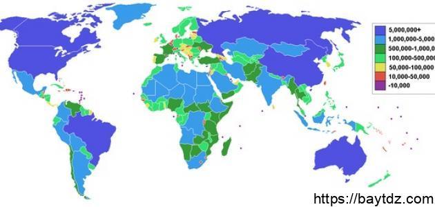 تعرف على ما هى مساحة الوطن العربي