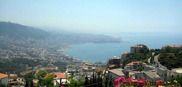 تعرف على ما هى مساحة لبنان