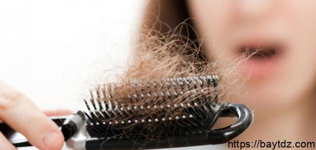 تعريف تساقط الشعر