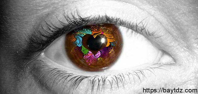 تغيير لون العين بالفوتوشوب