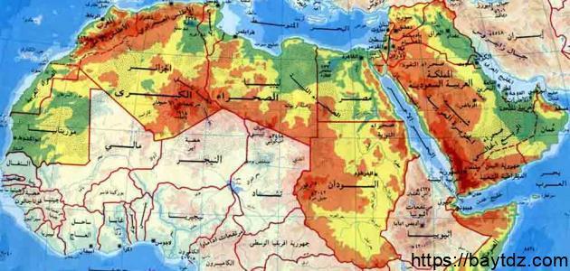 تقرير عن الوطن العربي