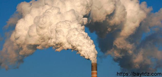 تقرير عن تلوث الهواء