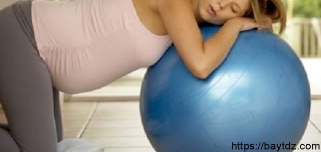 تمارين للحامل في الشهر التاسع لتسهيل الولادة