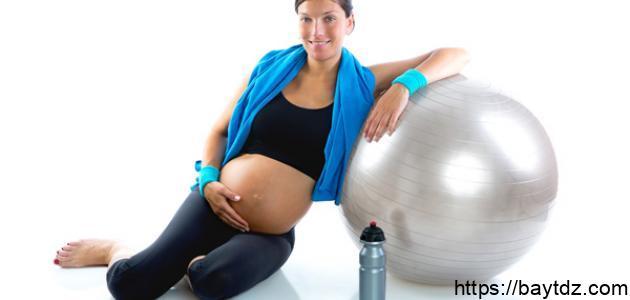 تمارين للحامل في الشهر الثامن
